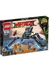 Lego Ninjago Guerrier Hydro-Grimpeur Aquatique