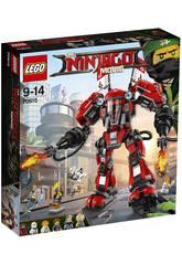 Lego Ninjago Robot Armure de Feu