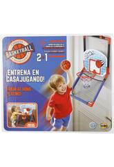 Panier Basket 2 en 1 Avec Ballon 13,5 cm