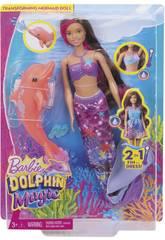 Barbie Sirena Mágica Mattel FBD64