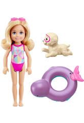Barbie Chelsea Bouée et Petit Chien