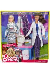 Barbie Yo Quiero Ser Astronauta y Científica Mattel FCP65
