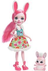 Bambola Enchantimals Bree Il Coniglio con Cucciolo Mattel