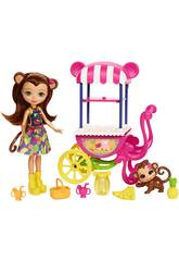 Enchantimals Panier de Fruits Mattel FCG93