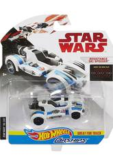 Star Wars E8 Carro Espacial Hot Wheels