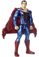 Justice League Figura Superman Thermal Power 30 cm Luci e suoni