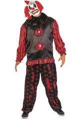 Costume Uomo Pagliaccio Cattivo