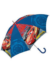 Cars 3 Paraguas Automático Campana 48 cm. Kids Euroswan WD19068