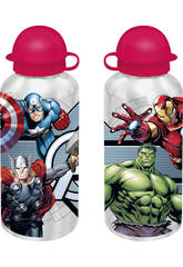 Avengers Borraccia Alluminio 500 ml Kids Euroswan MV15197