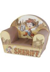 Sedia dello sceriffo marrone