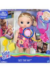 Doll Baby Alive Verwöhn- und Pflegezubehör Lichter und Geräusche 34 cm HASBRO C0957