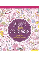 Bloc pour Colorier ... (2 livres) Susaeta Editions