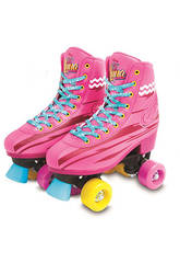 Soy Luna Light Up Patins à Roulettes (Taille 30/31)