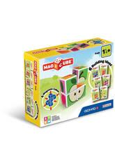 Magicube Fruit 4 cubes Geomag 131