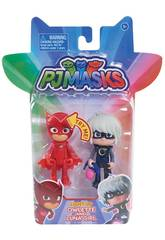 PJ Masks Personaggi Con Luce Bandai 24810