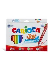Rotulador Joy 24 Unidades Carioca 40615