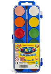 Carioca K040 Blister Acquerelli Tavolozza 12 Colori