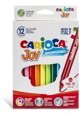 Pennarelli Joy Confezione 12 Pennarelli Carioca 40614