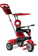Tricycle VANILLA 4 en 1 ROUGE SmarTrike