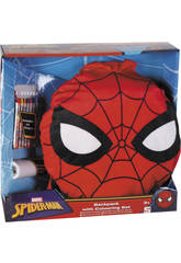 Spiderman Conjunto Escolar Activity Backpack