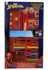 Spiderman Estuche De 52 Piezas