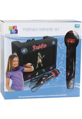 Karaoke Infantil Portátil Con Micro Y Amplificador