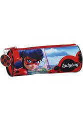 Estuche Portatodo Redondo Ladybug Safta 811702026