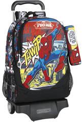 Zaino Trolley Spiderman Safta 611743313