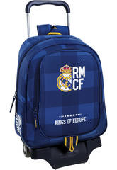 Mochila Carro Real Madrid Azul Safta 611724313