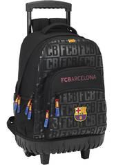 Sac à dos Trolley Noir F.C. Barcelone Safta 611725818