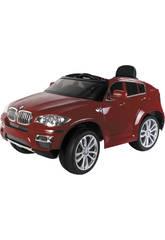 Vehículo Deportivo BMW Rojo 6v. Con 2 Motores