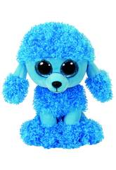 Peluche Mandy Poodle Azul 15 cm. Ty 36851