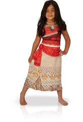 Costume Vaiana Classic Bimba M