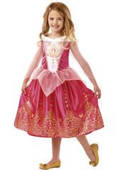 Costume Bimba Bella Addormentata nel Bosco Deluxe L Rubies 640714-L