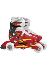 Skates Autos 2 in 1 verstellbar nº 27-30
