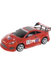 Carro Fricção Super Racing 44 cm. Vermelho Famous 12