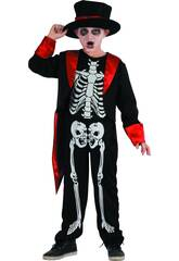 Costume Bimbo Scheletro M