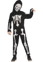 Déguisement Bébé Taille S Squelette
