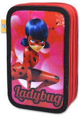 Ladybug Estuche 3 Pisos Cife 40956