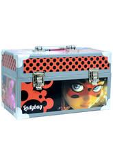 Mallette Travaux Manuels Ladybug avec Accessoires 15.5 x 26 x 14 cm Cife 41173