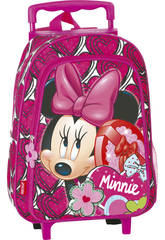 Zaino Trolley Minnie Hearts Perona 54377