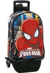 Day Pack con Soporte Spidermanb Town Perona 54296