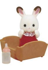 Sylvanian Families Bebé Conejo Chocolate Epoch Para Imaginar 5062