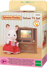 Sylvanian Families Farbfernseher mit M