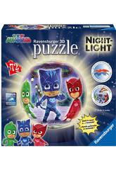 Pyjamasques Puzzle 3D Lampe Ravensburger 11771