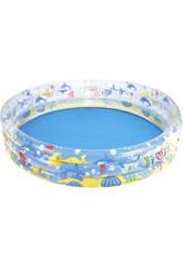 Aufblasbarer Pool 152x30 cm. 3 Ringen Aquario Bestway 51004