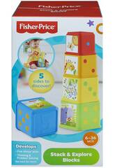 Fisher Price Bloques Apila y Descubre Mattel CDC52