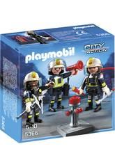 Playmobil Equipa de Bombeiros