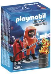 Playmobil Spécialiste en Extinction d'Incendies