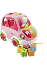 Mini Voiture Colorin rose